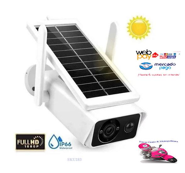 Camara Ip Solar Ip Seguridad Wifi Exterior Hd 1080p / 221021