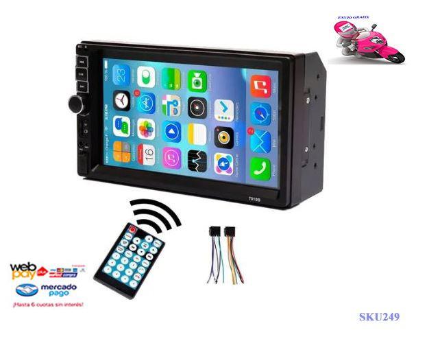 Radio Auto Pantalla Touch 7 Pulgadas Bluetooth / Radio/mp5