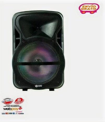 """Parlante Karaoke 22N Centauro 12"""" con micrófono inalámbrico incluido"""