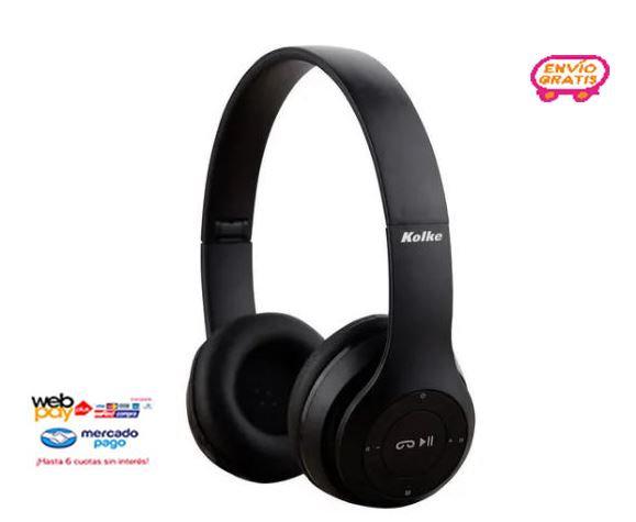 Audífonos Bluetooth Kolke Con Micrófono Radio Fm Recargables