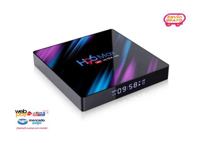 H96 Max Smart Tv Box 4k Android 9.0 2g/16g