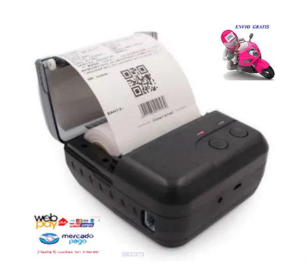 Impresora Térmica 80mm Usb + Bluetooth Boleta Electrónica