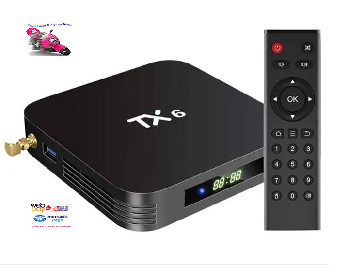 Smart Tv-box Netflix Youtube Wifi Full-hd 1080p