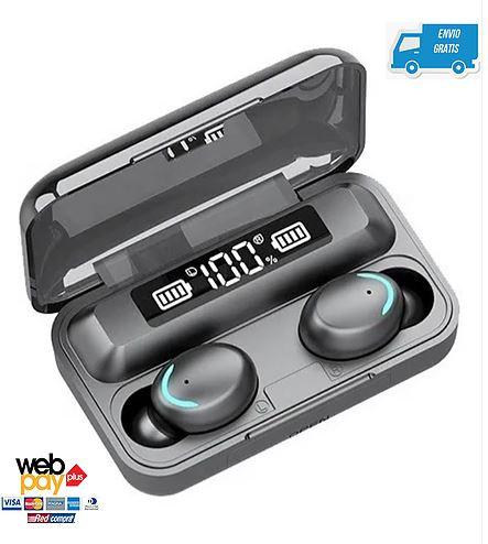 Audífono Bluetooth F9-5 Tsw Powerbank Wireless Manoslibres