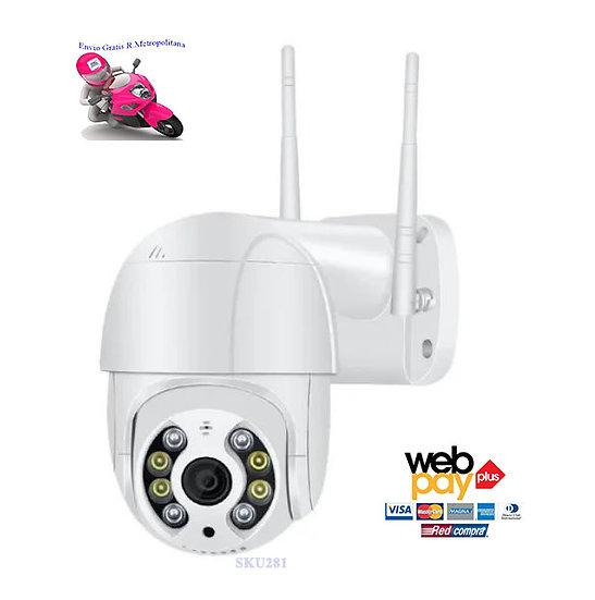 Camara Vigilancia Exterior Inalámbrica Ip/1080p/onvif/zoomx4