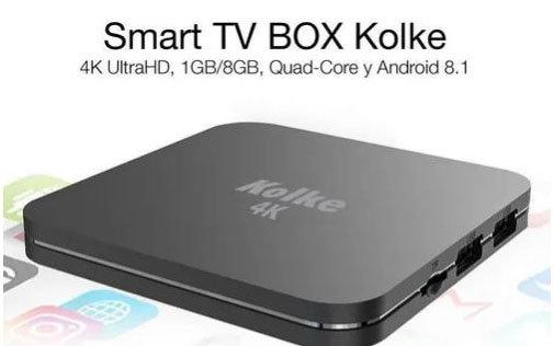 Smart Tv Box Kolke Android 8,1 Ultra Hd 4k 1gb 8gb Netflix Y