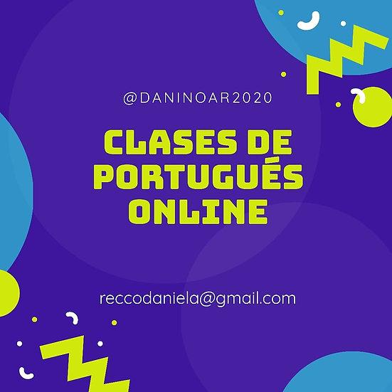 PORTUGUES CLASES ONLINE