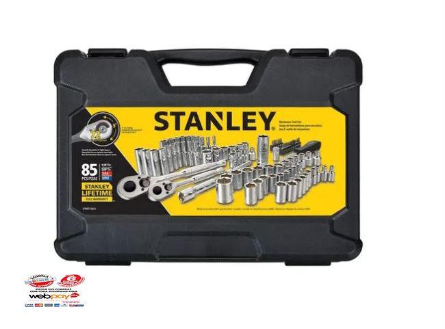 Juego De Herramientas Mecánicas 85 Pzs Stanley Stmt71651