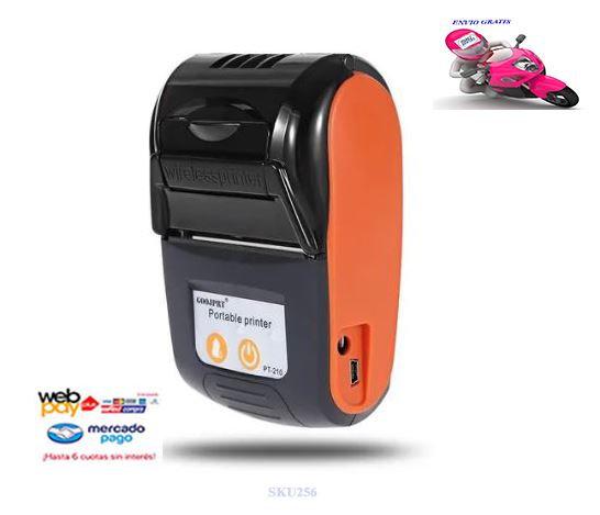 Impresora Térmica Portátil 58mm Bluetooth