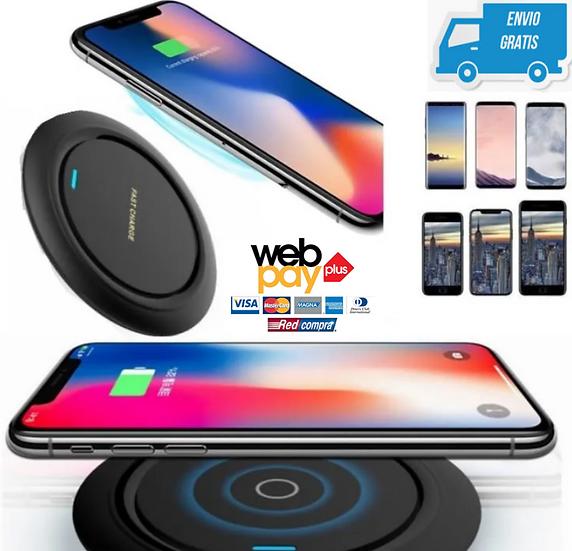 Cargador Inalámbrico Qi Wireless iPhone y Android