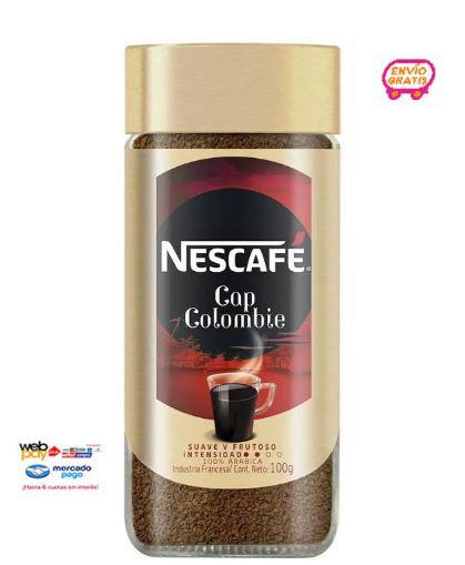 NESCAFE CAFÉ INSTANTÁNEO CAP COLOMBIE GRANULADO PACK DE 4