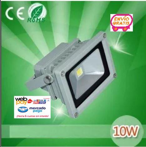 Foco Proyector Led 10 Watts 12 24 Volts Para Equipos Solar