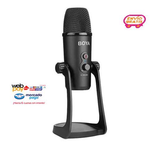 Micrófono Boya By-pm700 De Estudio Usb Multipatrón