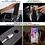 Thumbnail: Cargador 10w Auto Inalambrico Qi iPhone 8 X Xs S8 S9 Soporte