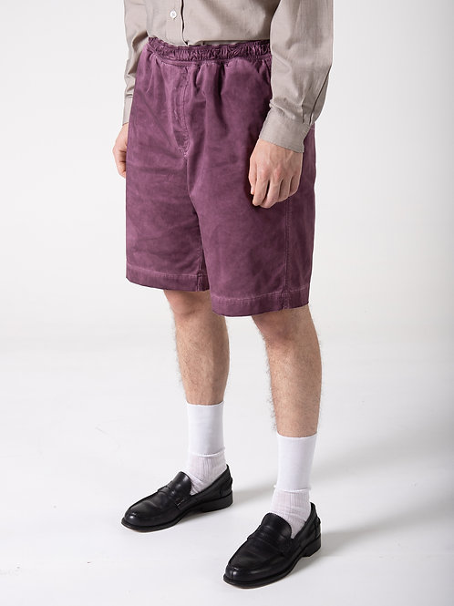 CLASSIC SHORTS P RED WINE