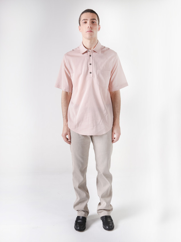 POLO SHIRT PINK COTTON