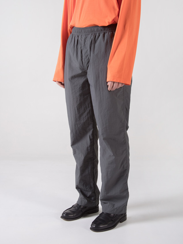 RELAX TROUSERS P GREY NYLON