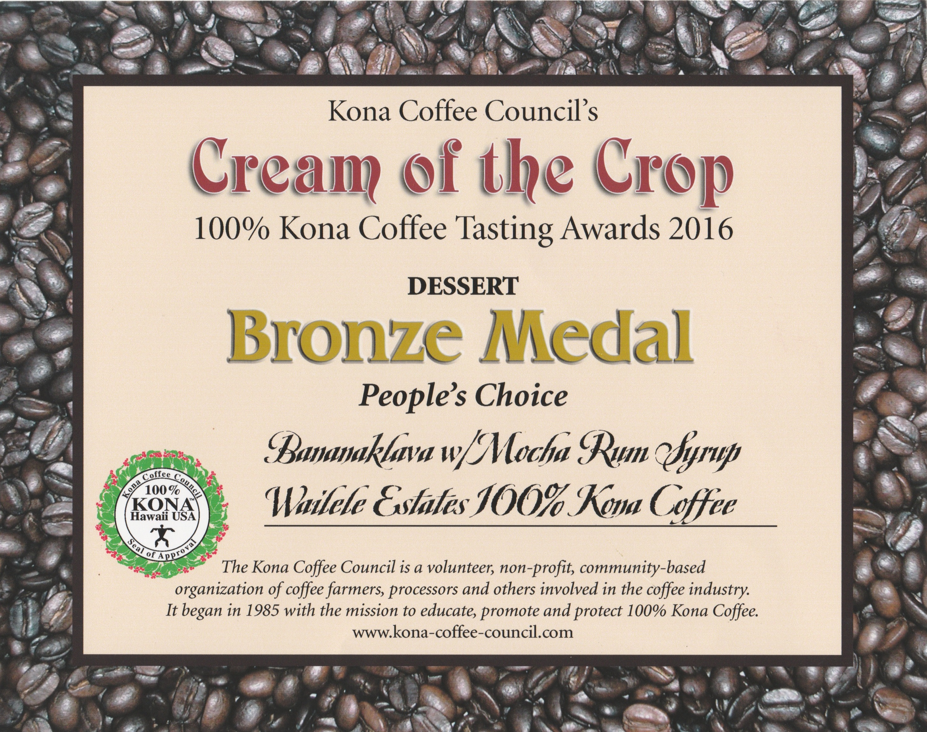 C of C bronze des2016