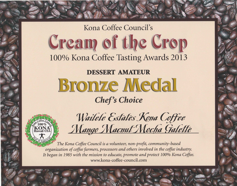 Cof C Bronze Dessert 2013