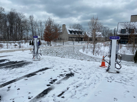 Electric Vehicle Charging Stations Added