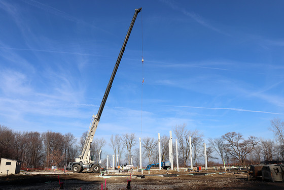 The Steel is Rising for our New Buildings