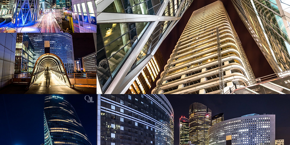 [FULL] Night photos workshop in an urban environment (La Défense)