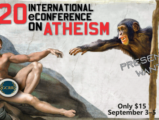Did You Miss the 2020 International eConference on Atheism? You're in Luck!