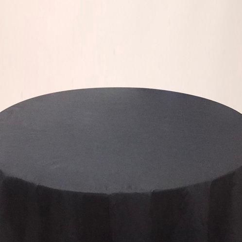 Mantel liso negro