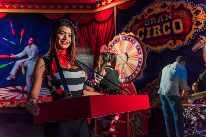 El Circo en tu fiesta. Una temática muy original para tu próxima celebración