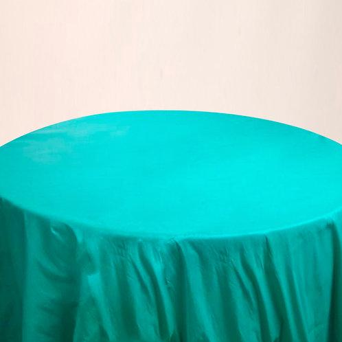 Mantel liso turquesa