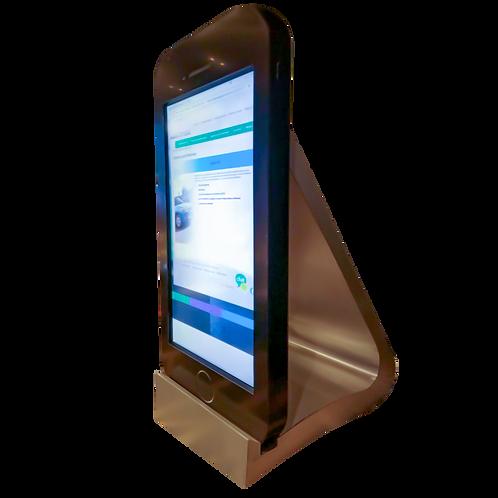 Pantalla Touch con forma de Smartphone