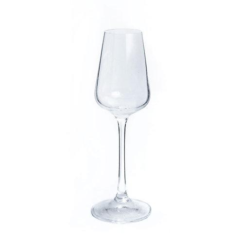 Copa para  liquor y postres - Modelo cuadrado
