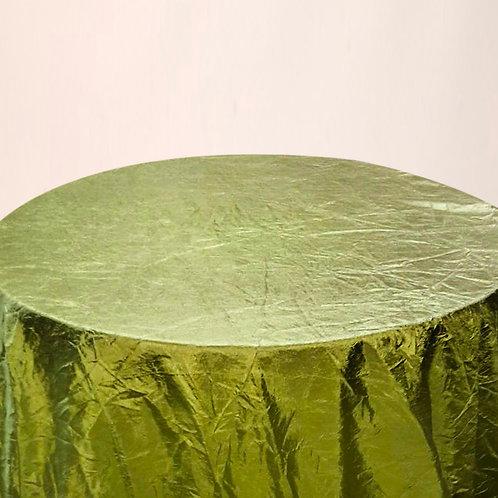 Mantel corrugado verde