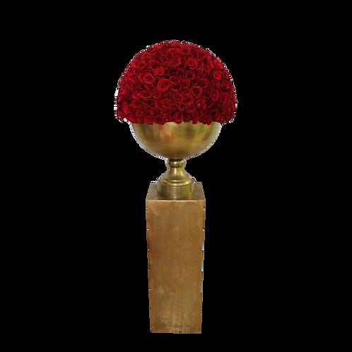Pedestal Dorado