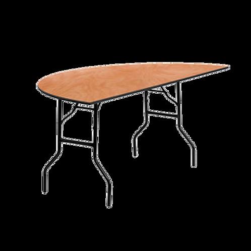 Mesa medio redondo para banquetes
