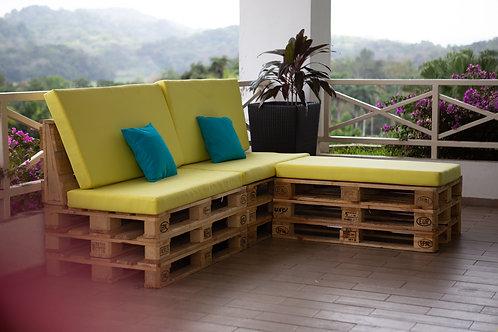 Muebles Lounge de palets
