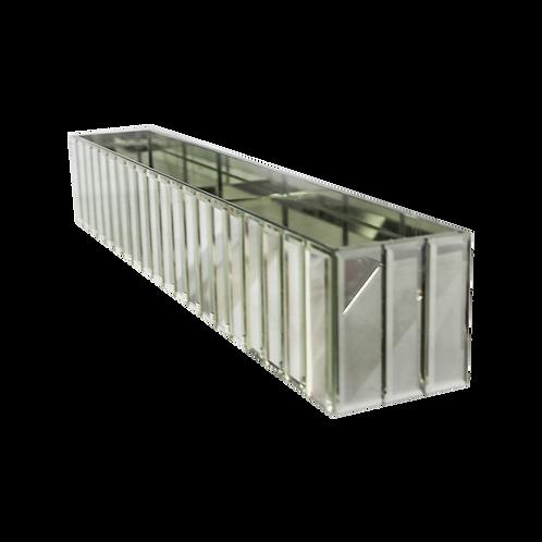 Centro de mesa rectangular - Espejos
