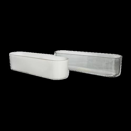 Centro de mesa rectangular