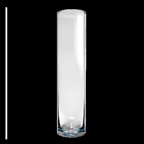 Jarrón Cilindro de vidrio