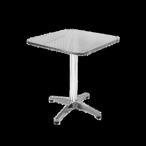 Mesa de aluminio - cuadrada