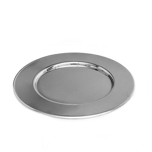 Porta platos - Plateado liso
