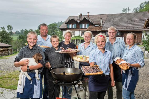 Familie Rüegg