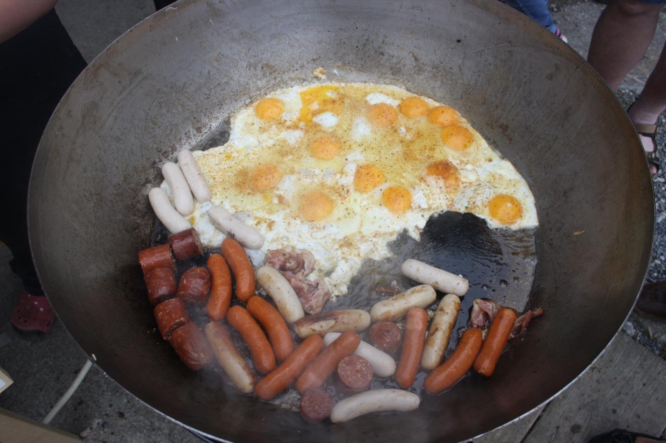 Eier & Würstchen