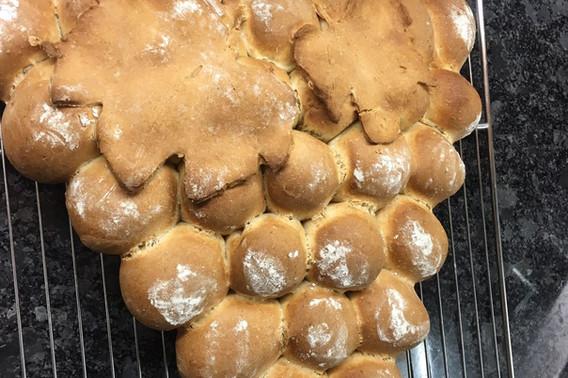 Brot für Partygrill