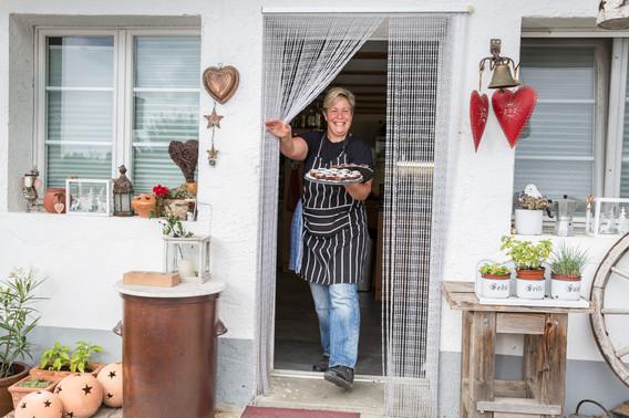 Aus der Küche kommen lauter hausgemachte Spezialitäten