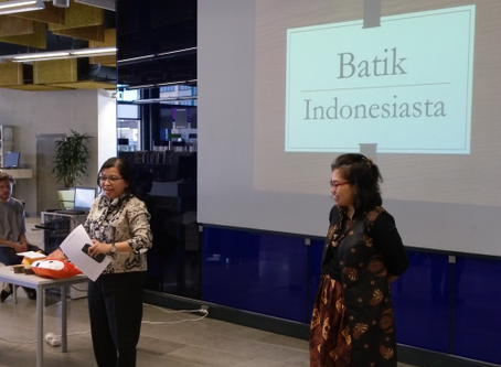 The Road to Indonesia: Batik @Entresse