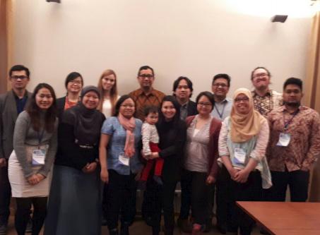 Partisipasi pada 4th Nordic Baltic Indonesian Scholars Conference, Februari 2018