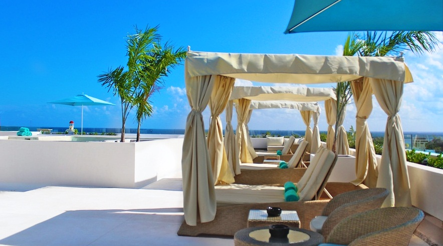 Stylish lounges at the terrace xx