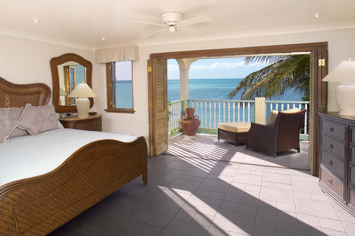 Blue Waters_Rock Cottage Master Bedroom-your escape