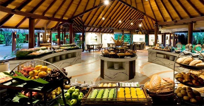 Maldives Anantara Kihavah 10 restaurant